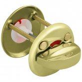 Изображение товара Ручка поворотная FUARO WC-001-GP (золото) подвес