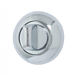 Изображение товара Поворотник на круглой розетке GROFF Поворотник на круглой розетке Groff Z-4P (кв. 6*6*75) C Хром