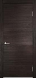 Изображение товара Межкомнатная дверь с эко шпоном Casaporte ТУРИН 01 Дуб шоколад CPL глухая