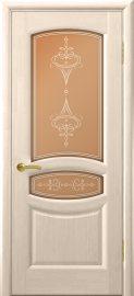 Изображение товара Межкомнатная ульяновская дверь Дворецкий Модена выбеленый дуб остекленная