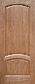 Изображение товара Межкомнатная ульяновская дверь Дворецкий Соло дуб натуральный глухая