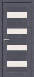 Изображение товара Межкомнатная дверь с эко шпоном el`PORTA Легно-23 Graphite Art остекленная