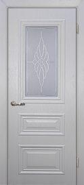 Изображение двери Классик-2 Лунное дерево остекленная в цвете лунное дерево
