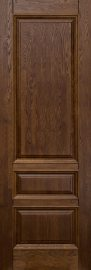 Изображение товара Межкомнатная дверь из массива Ока Аристократ №1 Античный орех глухая