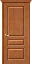 Изображение товара Межкомнатная дверь из массива Белорусские двери М5 Т-05 (Светлый Лак) глухая