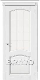 Изображение товара Межкомнатная дверь RIF-массив Vi LARIO Франческо Т-17 (Зефир) остекленная