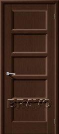 Изображение товара Межкомнатная дверь шпон файн-лайн Vi LARIO Премьера-5 (Венге) глухая