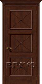 Изображение товара Межкомнатная шпонированная дверь Карл III Д-19 (Бренди) глухая