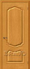 Изображение товара Межкомнатная шпонированная дверь  Белорусские двери Премьера Т-03 (ДубНат)