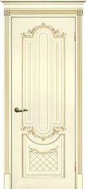 Изображение товара Межкомнатная ульяновская дверь Текона Смальта 13 Слоновая кость RAL 1013 глухая