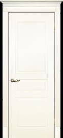 Изображение товара Межкомнатная ульяновская дверь Текона Смальта 01 Слоновая кость RAL 1013 глухая