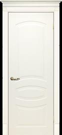 Изображение товара Межкомнатная ульяновская дверь Текона Смальта 02 Слоновая кость RAL 1013 глухая