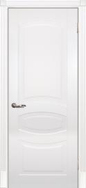 Изображение товара Межкомнатная ульяновская дверь Текона Смальта 02 Белый RAL 9003 глухая
