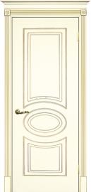 Изображение товара Межкомнатная ульяновская дверь Текона Смальта 03 Слоновая кость RAL 1013 глухая