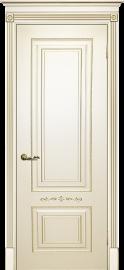 Изображение товара Межкомнатная ульяновская дверь Текона Смальта 04 Слоновая кость RAL 1013 глухая