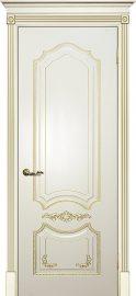 Изображение товара Межкомнатная ульяновская дверь Текона Смальта 10 Слоновая кость RAL 1013 глухая