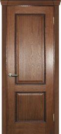 Изображение товара Межкомнатная ульяновская дверь Текона Фрейм 02 дуб глухая