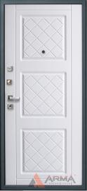 Дополнительное изображение товара Входная дверь ARMA Оптима New Светло-серый