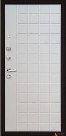 Дополнительное изображение товара Входная дверь ARMA Quadro Light Венге