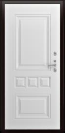 Дополнительное изображение товара Входная дверь Luxor Аура винорит белый