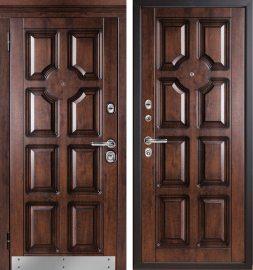 Изображение товара Входная дверь МетаЛюкс М707/2  с капителью