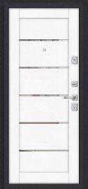 Дополнительное изображение товара Входная дверь Porta M П50.Л22 Tobacco Greatwood/White Softwood глухая