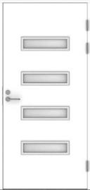 Изображение товара Входная дверь Jeld-Wen Function F2090 W53 белая