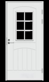 Изображение товара Входная дверь Jeld-Wen Function F2000 W71 белая