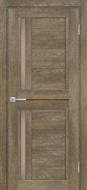 Изображение товара Межкомнатная дверь с эко шпоном Мариам Техно 804 Бруно остекленная