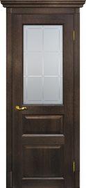 Изображение товара Межкомнатная дверь с эко шпоном Мариам Тоскана - 2 Фреско остекленная