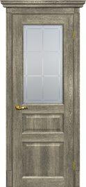 Изображение товара Межкомнатная дверь с эко шпоном Мариам Тоскана - 2 Гриджио остекленная