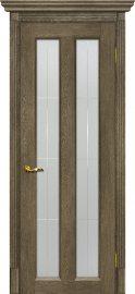 Изображение товара Межкомнатная дверь с эко шпоном Мариам Тоскана - 5 Бруно остекленная