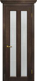 Изображение товара Межкомнатная дверь с эко шпоном Мариам Тоскана - 5 Фреско остекленная