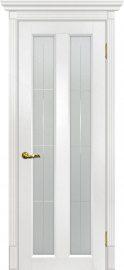 Изображение товара Межкомнатная дверь с эко шпоном Мариам Тоскана - 5 Пломбир остекленная