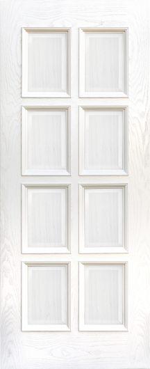 Изображение Межкомнатная ульяновская дверь Дворецкий Финестра Ясень карамельный глухая