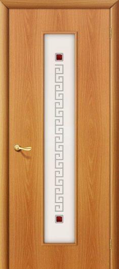 Изображение Межкомнатная ламинированная дверь Браво 21Х Л-12 (МиланОрех) остекленная
