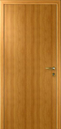 Изображение Межкомнатная гладкая дверь KAPELLI Classik Миланский орех глухая