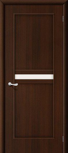 Изображение Межкомнатная ламинированная дверь Браво 19С (Венге) остекленная