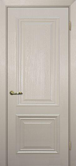 Изображение Межкомнатная дверь с ПВХ-пленкой Классик-1 Бланжевое дерево глухая
