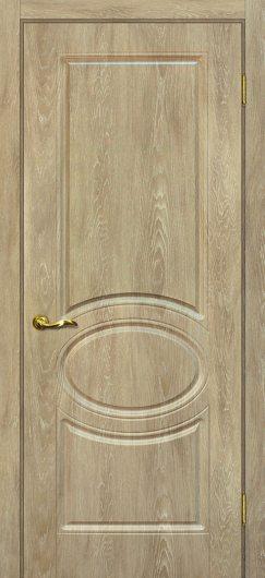 Изображение Межкомнатная дверь с ПВХ-пленкой Сиена 1 Дуб песочный глухая