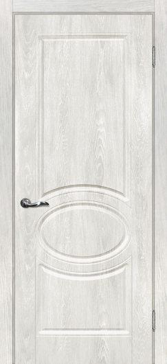 Изображение Межкомнатная дверь с ПВХ-пленкой Сиена 1 Дуб жемчужный глухая