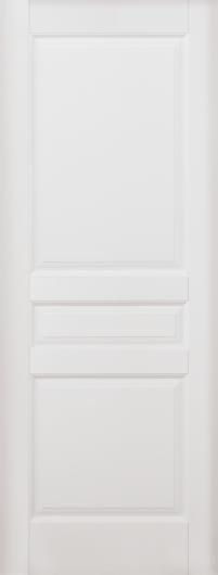 Изображение Межкомнатная дверь из массива Валенсия Эмаль белая глухая