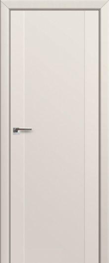 Изображение Межкомнатная дверь с экошпоном 20U Магнолия сатинат глухая
