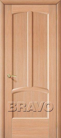Изображение Межкомнатная дверь шпон файн-лайн Ветразь Ф-04 (Дуб) глухая