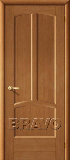 Изображение Межкомнатная дверь шпон файн-лайн Vi LARIO Ветразь Ф-11 (Орех) глухая