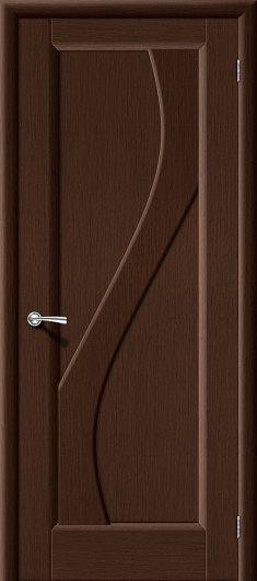 Изображение Межкомнатная дверь шпон файн-лайн Vi LARIO Сандро Ф-09 (Венге) глухая