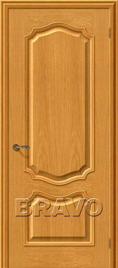 Изображение Межкомнатная шпонированная дверь Белорусские двери Премьера Т-03 (ДубНат)