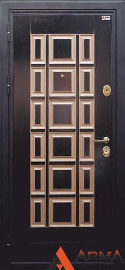 Изображение Входная дверь ARMA Модерн Люкс Муар Черный