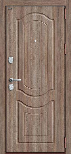 Изображение Входная дверь Р3-300 П-1 (Темный Орех)/П-1 (Темный Орех) глухая