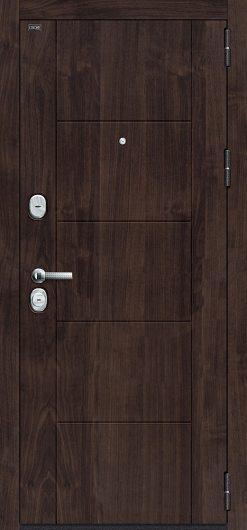 Изображение Входная дверь GROFF T3-223 Cappuccino Veralinga/White Pearl остекленная
